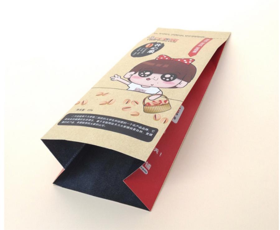 牛皮纸休闲食品袋